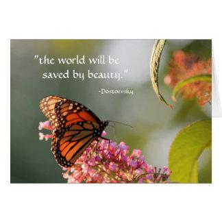 sparat av skönhet… hälsningskort