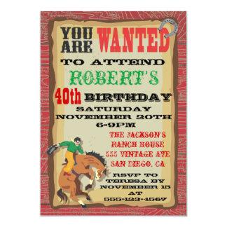 Sparka bakut affischen för 12,7 x 17,8 cm inbjudningskort