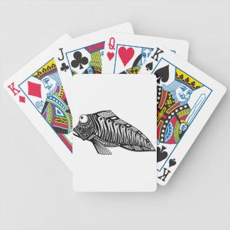 Sparkcykel fisken spelkort