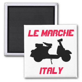 Sparkcykel Le Marche, italien Magnet