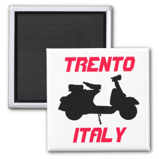 Sparkcykel Trento, italien Magnet