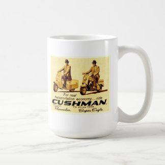 Sparkcyklar för Cushman pacemaker- och toppenörn Kaffemugg