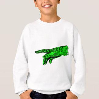 Sparken av liv - räcka av en Cyborggud (neongrönt) Tee Shirt