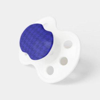 sparkling houndstooth, bläckig blått (I) Napp
