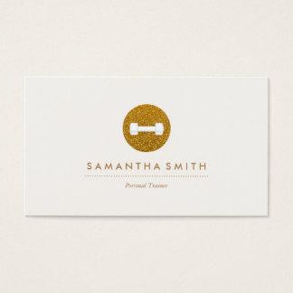 Sparkling logotypvisitkort för personlig visitkort