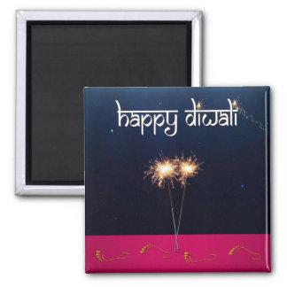 Sparkling lyckliga Diwali - magnet