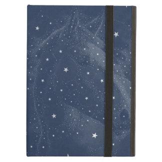 Sparkling midnatta blått för fodral för iPad air