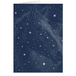 Sparkling midnatta blått för OBS kort