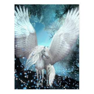 Sparkling Pegasus Vykort