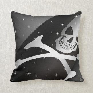 Sparkling piratflaggadekorativ kudde