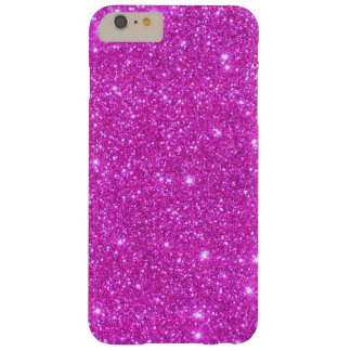 Sparkly Glittery fodral iPhone6 för rosa gnistra Barely There iPhone 6 Plus Skal