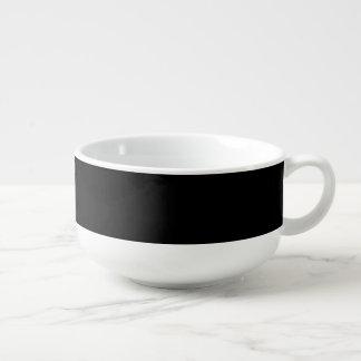 Sparkly katt stor kopp för soppa