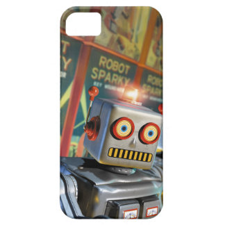 Sparky robot! iPhone 5 skal