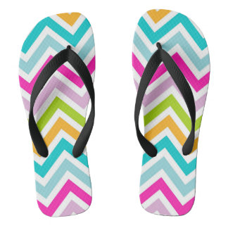 Chevrons Stripe Colorful Adult, Wide Straps