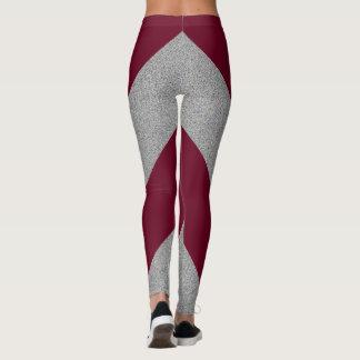 Sparre för grå färg för anpassadefärgljung leggings
