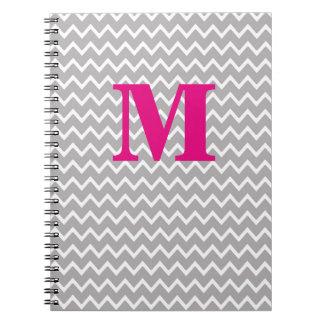 Sparre för grått för grå färg för anteckningsbok