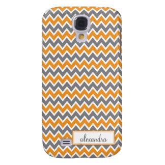 Sparre Pern (orangen) Galaxy S4 Fodral