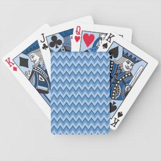 Sparremönsteranpassningsbar som leker kort spelkort