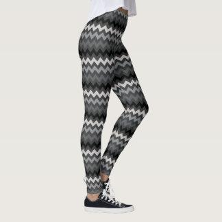 sparrerandar på mörk - grått leggings