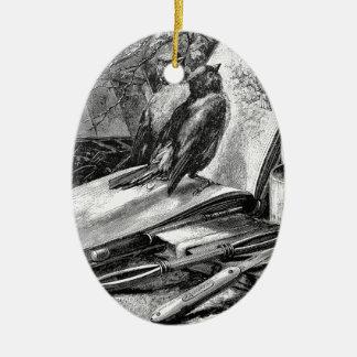 Sparrows på Sketchbook Julgransprydnad Keramik