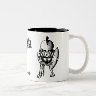 Sparta muggdesign Två-Tonad mugg