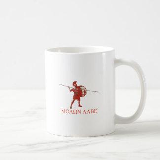 Sparta spartanskt rött kaffemugg