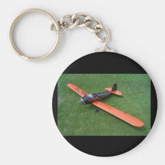 Spartansk C-2-60, 1931, Hood_Classic flyg Rund Nyckelring