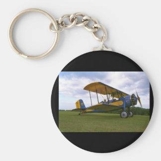 Spartansk C-3, 1929, Blakesburg_Classic flyg Rund Nyckelring