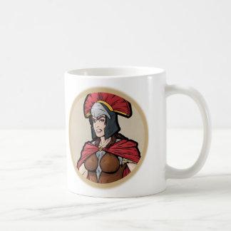 Spartanskt -- Kvinnligt Kaffemugg