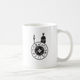 Spartanskt med skydda kaffemugg