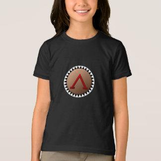 Spartanskt skydda flickaT-tröja Tröja