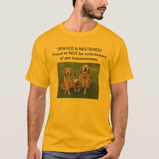 Spay den könlösa T-skjortan Tshirts