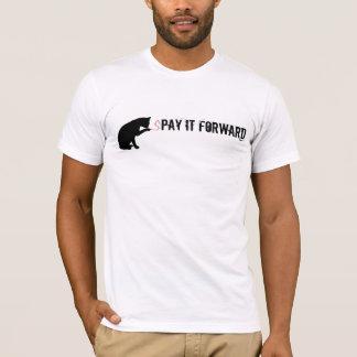 sPAY DET FRAMÅTRIKTAT T Shirts