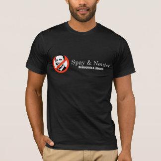 Spay och sterilisera liberal personT-tröja T-shirt