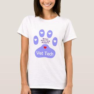 Spay, sterilisera, adoptera VetTech Tshirts