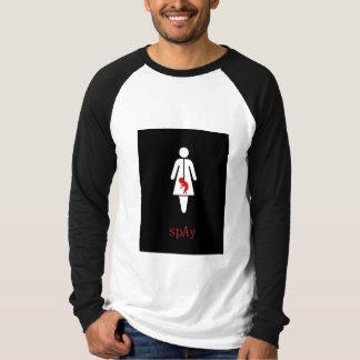 spay STOPPAR abort, för den händer T Shirt