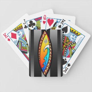 Spearheaden vinkar spelkort