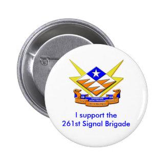 Specialgruppdiamanten stöttar jag the261st signal nål