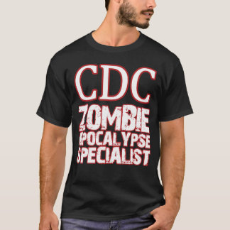 Specialist för CDC-Zombieapokalyps T-shirts