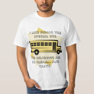 Speciell buss tee shirts