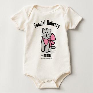 Speciell leverans bodies för bebisar