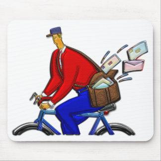 Speciell leverans för cykelbudbärare AKA Musmatta