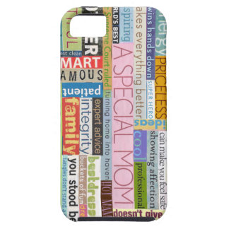 Speciell mamma iPhone 5 Case-Mate skal