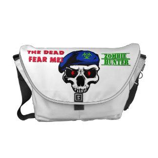 Speciell Ops för Zombiejägare messenger bag