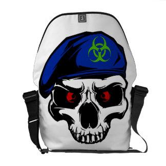 Speciell Ops för Zombieutbrott messenger bag