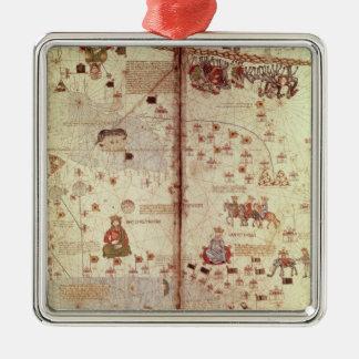 Specificera av Asien från catalanen Julgransprydnad Metall