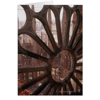 Specificera av La Sagrada Familia, Barcelona, Hälsningskort