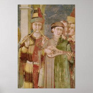 Specificera av musiker från livet av St. Poster