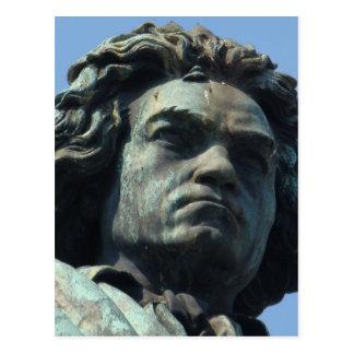 Specificera (den Head) stora Beethovenstatyn Vykort