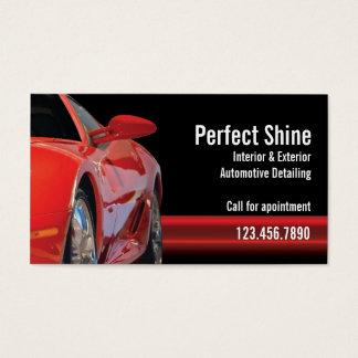 Specificera för bil visitkort
